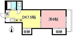 コベントガーデンA棟[105号室]の間取り