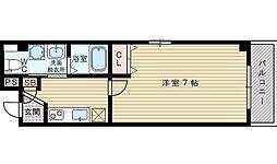 セレブコート豊新[3階]の間取り