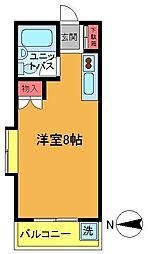 メゾン直希[2b号室]の間取り