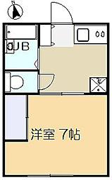 ブライトハイツ[1階]の間取り