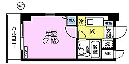 CITY高田馬場[3階]の間取り