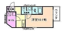 エコロジー立売堀レジデンス[11階]の間取り
