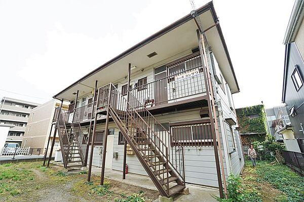 神奈川県川崎市多摩区中野島6丁目の賃貸アパート