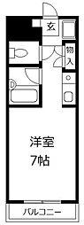 サン松香台[407号室]の間取り
