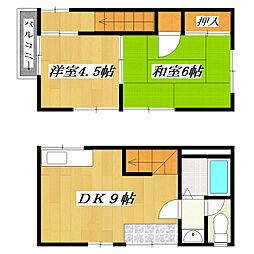 [テラスハウス] 東京都葛飾区奥戸3丁目 の賃貸【/】の間取り