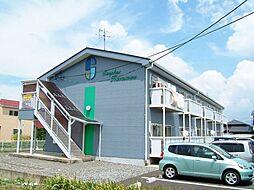 長野県松本市大字神林の賃貸アパートの外観