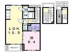 MK・ポラリス B[3階]の間取り