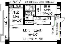 光第6ビル[307号室]の間取り