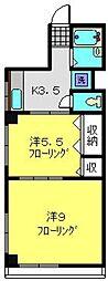 三陽ビル[303号室]の間取り