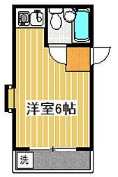 桜コーポ[101号室]の間取り