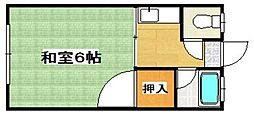 グランデハイツ飯倉[2階]の間取り
