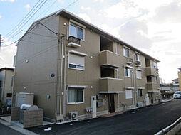 千葉県松戸市六実3丁目の賃貸アパートの外観