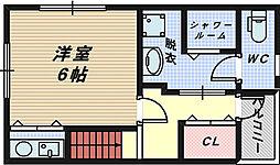 浅香山テラス[2階]の間取り
