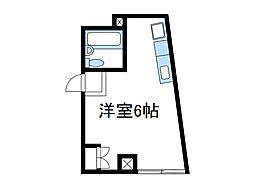 神奈川県座間市相武台1の賃貸マンションの間取り