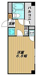 プリネスト須磨[5階]の間取り