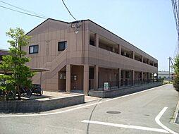 愛知県岡崎市上地2丁目の賃貸アパートの外観