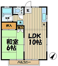 鎌倉ヒルズ[7号室]の間取り