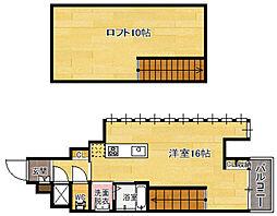 ORIENTBLD No.111 TRADING TOWER[20階]の間取り