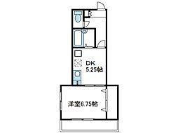 神奈川県海老名市東柏ケ谷4の賃貸マンションの間取り