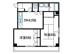 神奈川県座間市相模が丘3丁目の賃貸マンションの間取り