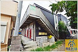千葉県千葉市花見川区幕張町6の賃貸アパートの外観