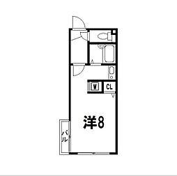 Branche吉祥寺[2階]の間取り