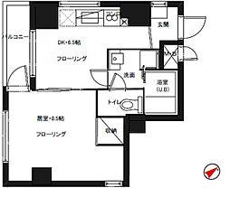 セイコーガーデンXI大塚[6階]の間取り