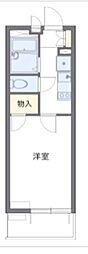 京成千葉線 京成稲毛駅 徒歩6分の賃貸マンション 3階1Kの間取り