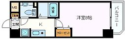 ロジェ今福鶴見[203号室]の間取り
