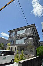大阪府池田市五月丘2丁目の賃貸アパートの外観