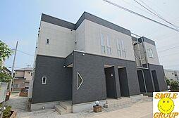 千葉県船橋市藤原5丁目の賃貸アパートの外観