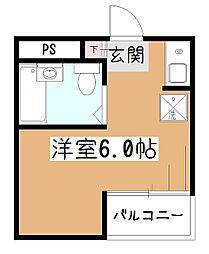 オークビル[5階]の間取り