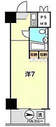 グランヴェル石神井公園[503号室]の間取り