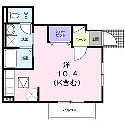 プチメゾン吉祥寺[1階]の間取り