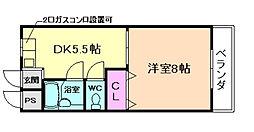 辻マンション[3階]の間取り