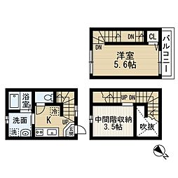 sereno検見川(セレーノケミガワ)[1階]の間取り