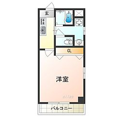 TOYOTOMI STAY PREMIUM 天王寺公園南I 9階1Kの間取り