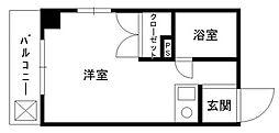 ハイツチャコール[5階]の間取り