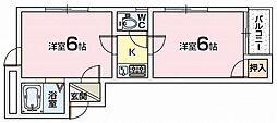 ほーむ21伊加賀[3階]の間取り