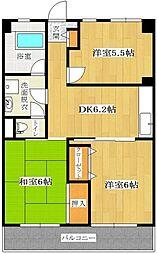 東野興産第1ビル[105号室]の間取り