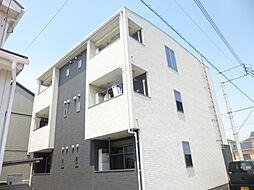 埼玉県三郷市中央4丁目の賃貸アパートの外観