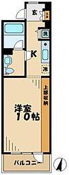 神奈川県川崎市麻生区はるひ野4丁目の賃貸マンションの間取り