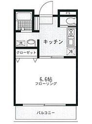桃山ビル[3階]の間取り