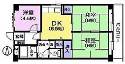 みなもとマンション[5階]の間取り