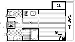 サンビエナ[2階]の間取り