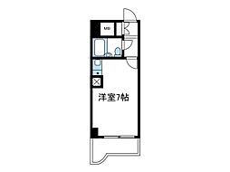 神奈川県海老名市中央3丁目の賃貸マンションの間取り