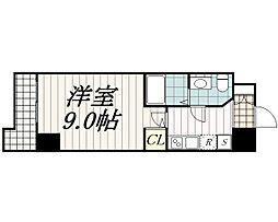千葉県千葉市中央区本千葉町の賃貸マンションの間取り