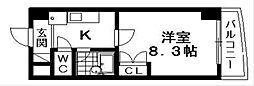 コンフォートテラオ[4階]の間取り