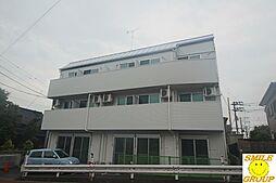 千葉県市川市原木3の賃貸アパートの外観