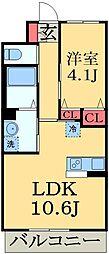 千葉県千葉市中央区蘇我3丁目の賃貸マンションの間取り